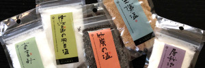 SHIHO AOYAMA SELECTION SALT PACKAGE